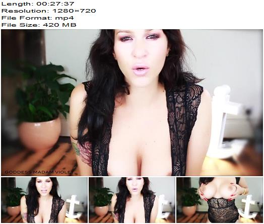 Madam Violet - Deep Trance Cock Block - Mesmerize - Breast Worship, Mental Domination