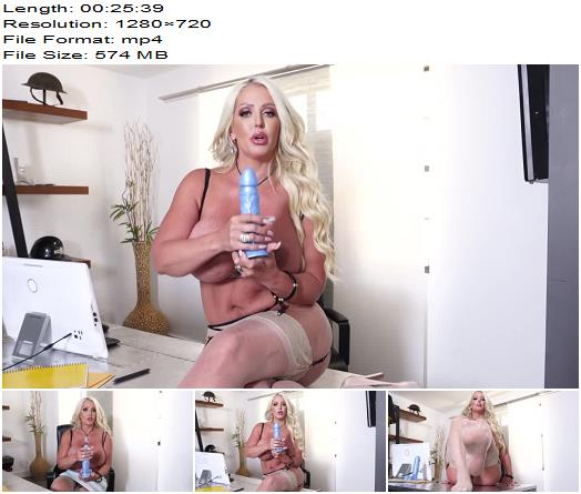 Massive Tits Coworker Alura Jenson Teases You During JOI preview