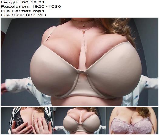 Mila Volker - Hot Tease/Bra Fetish - Bra & Panties, Boobs Bouncing