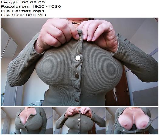 Mila Volker - Worship My Juicy Soft Huge Tits - Teasing - Cocktease, POV