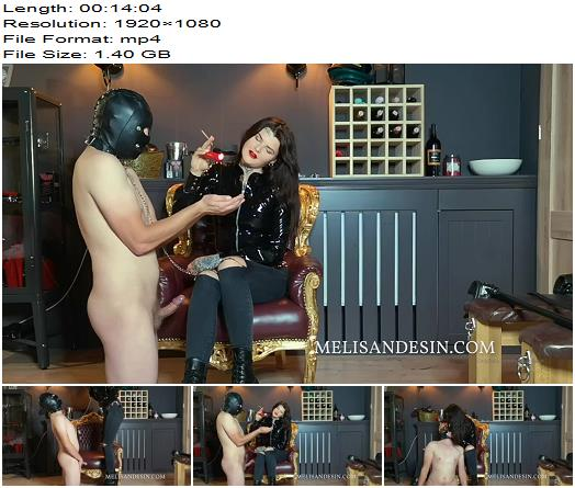 Miss Melisande Sin  Disobedient Ashtray  Smoking preview