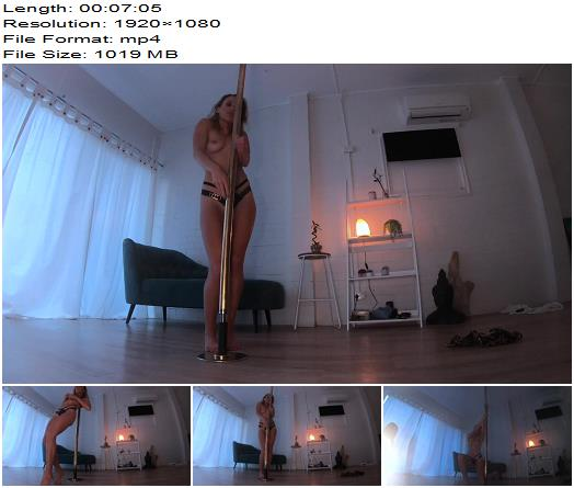 Mistress Alana  Striptease and pole dancing at home  Teasing preview