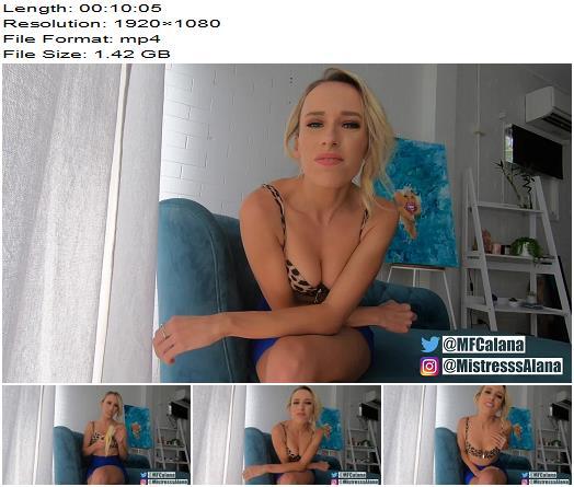 Mistress Alana  Suck Cock for Goddess  Forced Bi preview