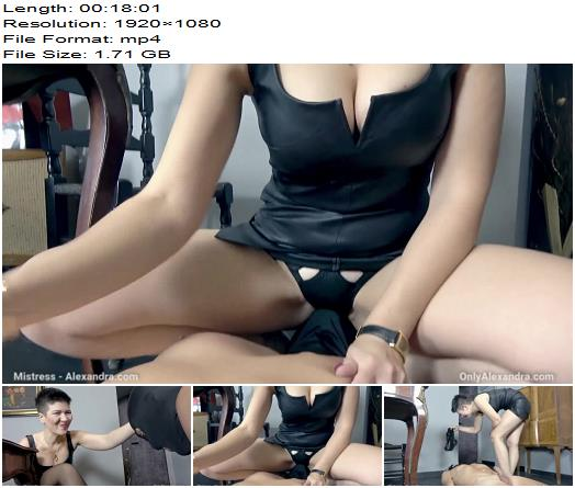 Mistress Alexandra  Your Boss lady dream  Humiliation preview