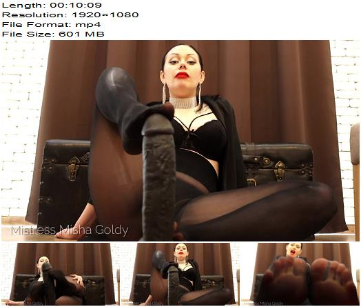 Mistress Goldy  While you locked and unable to please  Cocktease preview