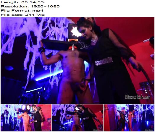 Mistress Iside  Scraped Cock  CBT preview