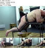 Mistress Vixen starring in video 'Birthday Treat Burn And Beat pt2'  - Punishment, Spanking