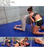 Mixed Wrestling Zone - Szamanta - Hungarian Punisher - Female Domination, Femdom