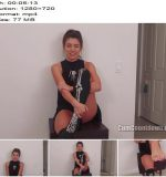 Nikki Next starring in video 'Trick Or Treat, Smell My Feet' of 'Cum Countdown' studio  - Jerkoff Instructions, Keep2share