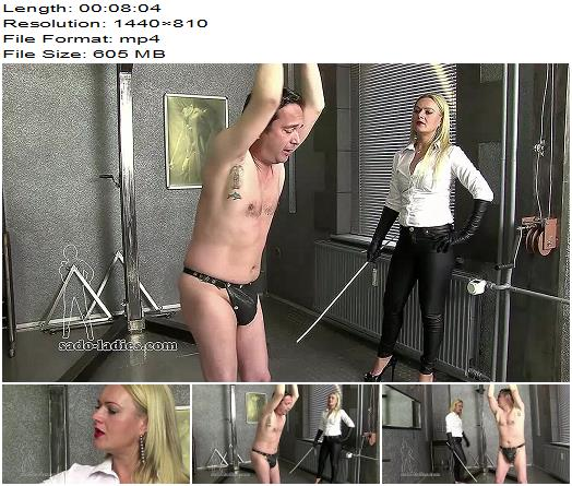 SadoLadies  You Must Not Move  Mistress Athena  Caning preview