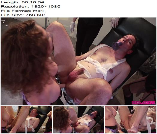 Severe Sex Films  Creepy Gynecologist Gangbang 3 of 3  Pegging preview