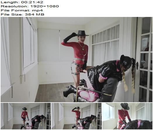 Stella Liberty  Strapon Caning for Candi Cumdump  Sissy preview