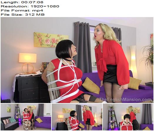 The English Mansion  Bound Maid Sharon and Miss Eve Harper  A Maids Tale Pt 1  Part 1 preview