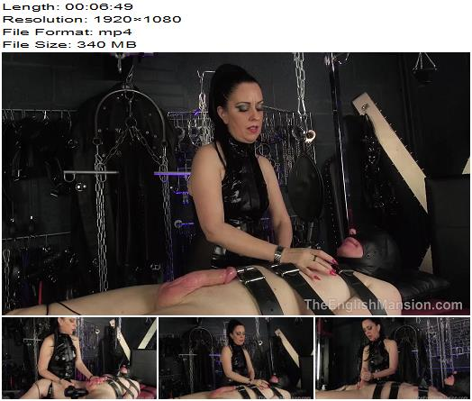 The English Mansion  Lady Bellatrix  Rebreathe Edging  Part 2 preview