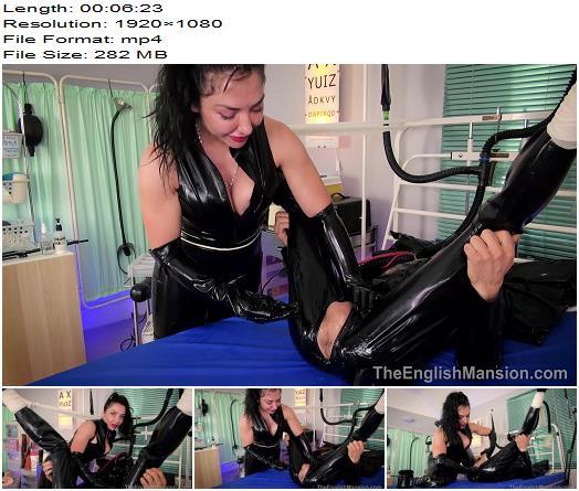 The English Mansion – Ultimate Ass Stretch – Part 1 -  Mistress Damara  - K2s.cc, Anus