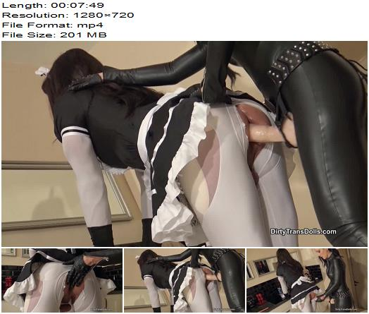 DirtyTransDolls  Sissy maid fuck doll part 2  Fetish Liza  Pegging preview