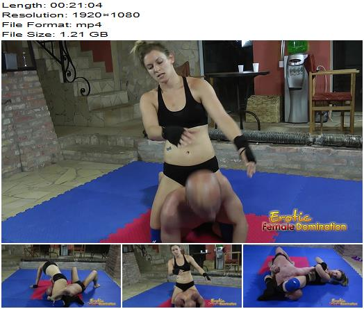 Erotic Female Domination  Viktoria Teaches Miki What Suffering Really Is  Wrestling preview