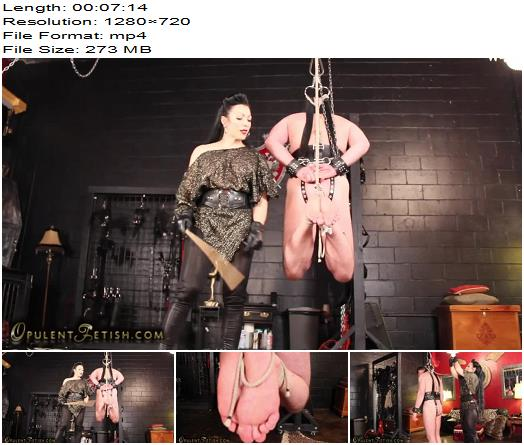 Goddess Cheyenne starring in video Bastinado Suspension preview