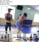 Heels4Kicks - Lora Destroys 2 Men - Kicking - Femdom, Female Domination