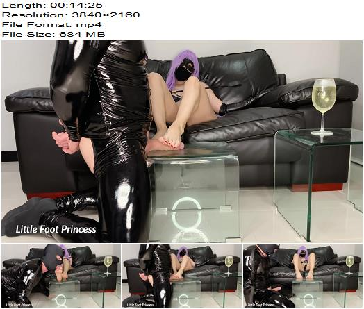 Little Foot Princess starring in video Foot Worship Cum Eating  Piss Drinking preview