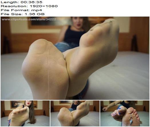 Long JOI Clips  Daria  Are you ready to BURST like a footaddict loser  Footworship preview