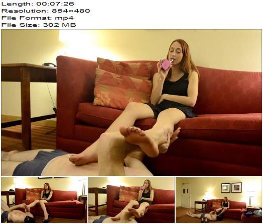 Pedestal  Luna Lain  Thank Mistresss Feet preview