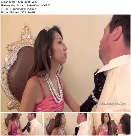 Princess Jennifer starring in video Disrespecting Your Elders of ASIAN MEAN GIRLS studio preview