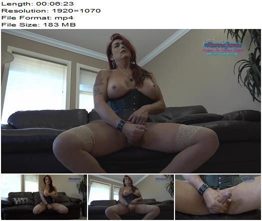Rianna James  Goddess Rianna makes you her Cum bucket preview