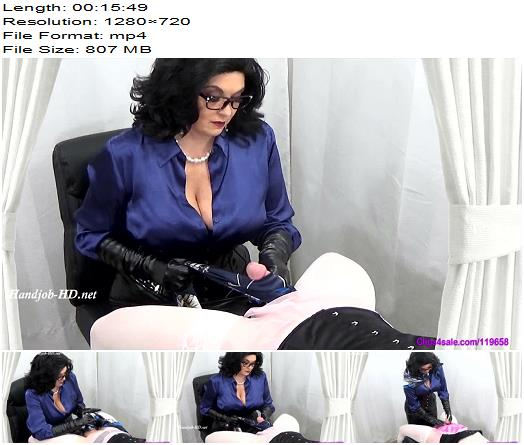 Satin Therapy of Mrs Keswicks House of Femdom studio preview