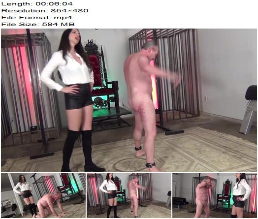 Stella Liberty starring in video 'YOUR TESTICLES ARE MINE TO CRUSH' of 'DomNation' studio - Female Supremacy, Ballbusting