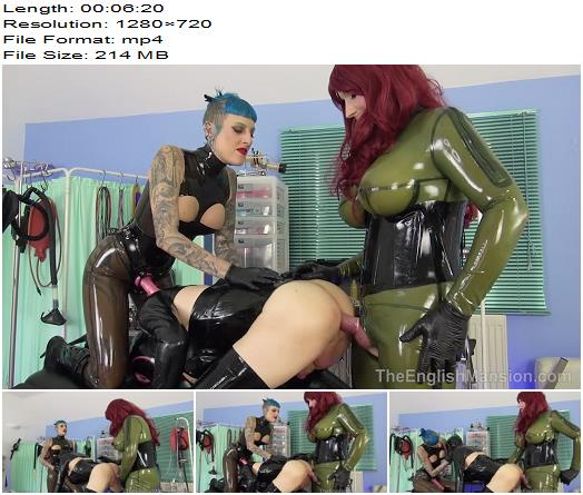 The English Mansion  Dominant Dolly and Mistress Bliss  Boy 2 Doll Transformation Pt 2  Part 3 preview