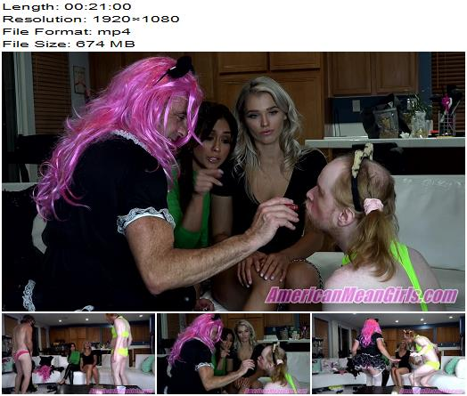 The Mean Girls  Lexi Chase Princess Amber  Whore Practice 1080 HD  Sissy preview