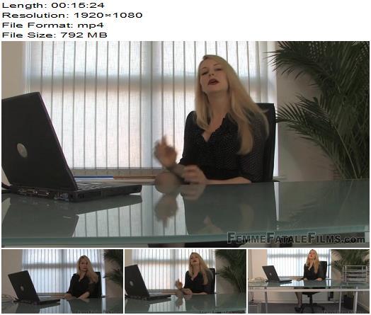 Femme Fatale Films  Mistress Eleise de Lacy  Tiny Cock Cuckold  Complete Film preview
