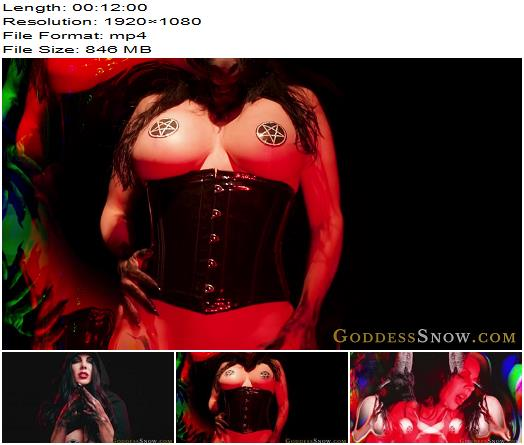 Goddess Alexandra Snow  Damned Devotion Invocation of Lust preview