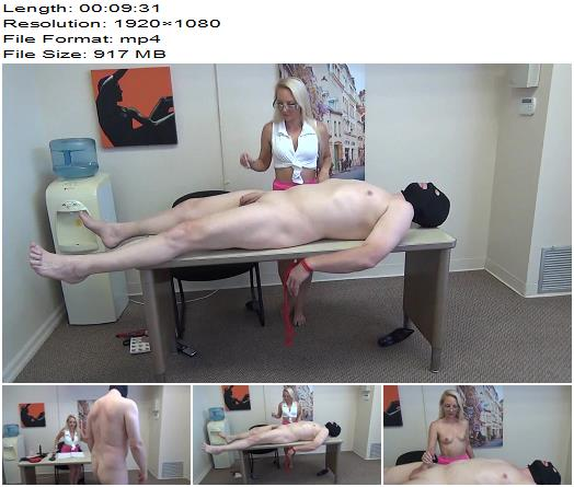 Lisas Foot Humiliation Beatdown and Cock Milking  Office Domination preview