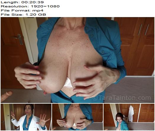Tara Tainton  DoubleBooked at the Sperm Clinic  Handjob preview