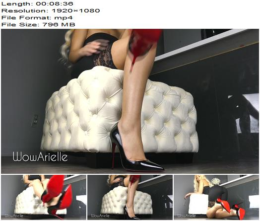 WowArielle  In Love With Louboutin  Blackmail  Findom preview
