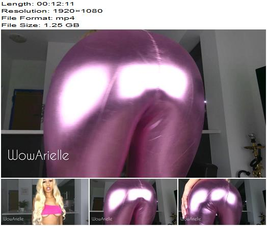 WowArielle  Spend for My Shiny Pants  Oral Servitude preview