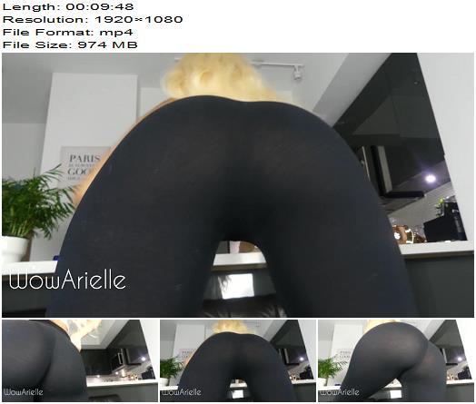 WowArielle  Sweaty Gym Legging Ass Sniffer  Fetish preview