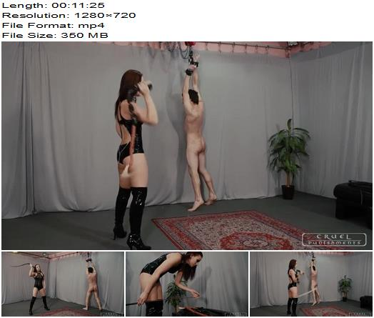 Anette is a hard punisher Part 2 of Cruel Punishments studio preview