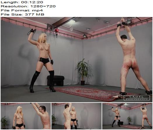 Anettes pure force Part 2 of Cruel Punishments studio preview