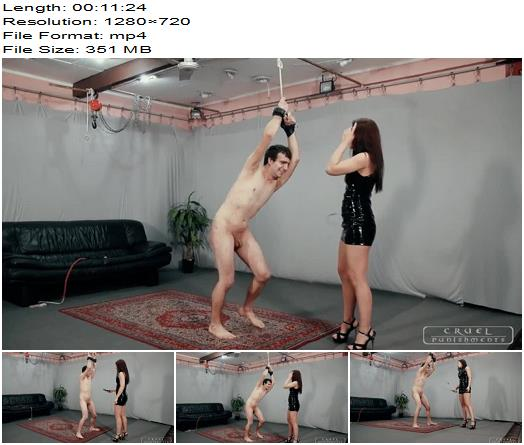 Anettes screaming slave Part 3 of Cruel Punishments studio preview
