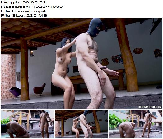 Ballbusting Very Hard And Brutal Kicks And Very Hot Mistress of Kebranozes studio preview