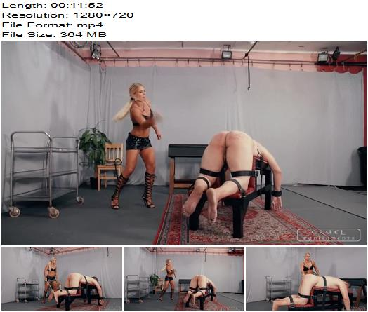 Cruel Mistresses  Cruel Punishments  Zitas strong strokes  Whipping and Caning preview