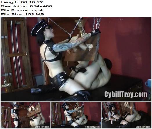 Cybill Troy  Prisoner of Sodomy  Strapon preview
