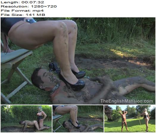 Lady Nina Birch starring in video Rough And Dirty Strapon  Part 2 of The English Mansion studio preview