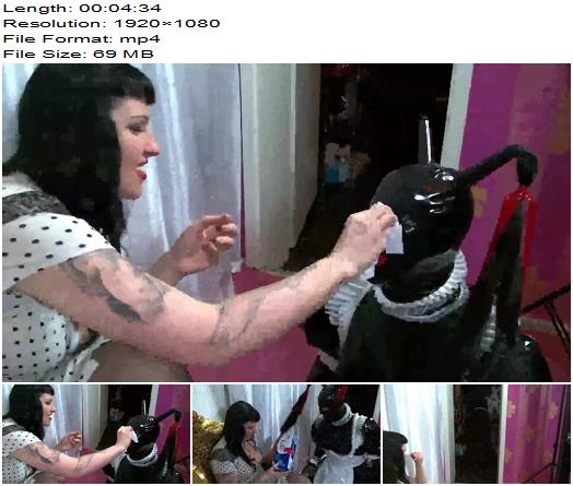 Lady Vampira starring in video Be my Garbage Sissy Slut preview