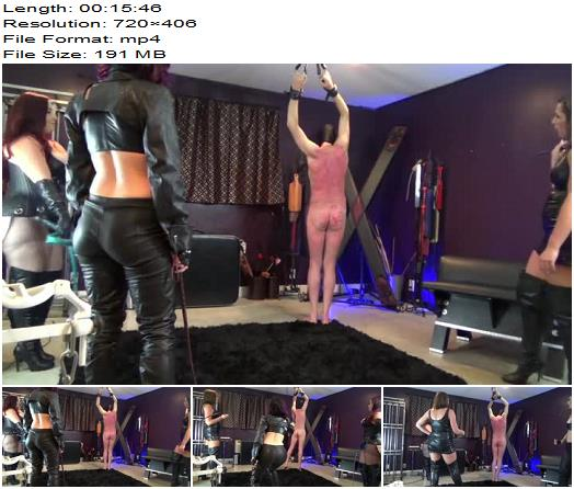 Leather GirlGang Whipping preview