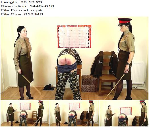 Miss Jessica  Punished For Malingering  The Hunteress  Spanking preview