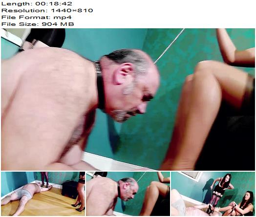 Miss Jessica Wood  Double Domme Session  The Hunteress  Femdom preview